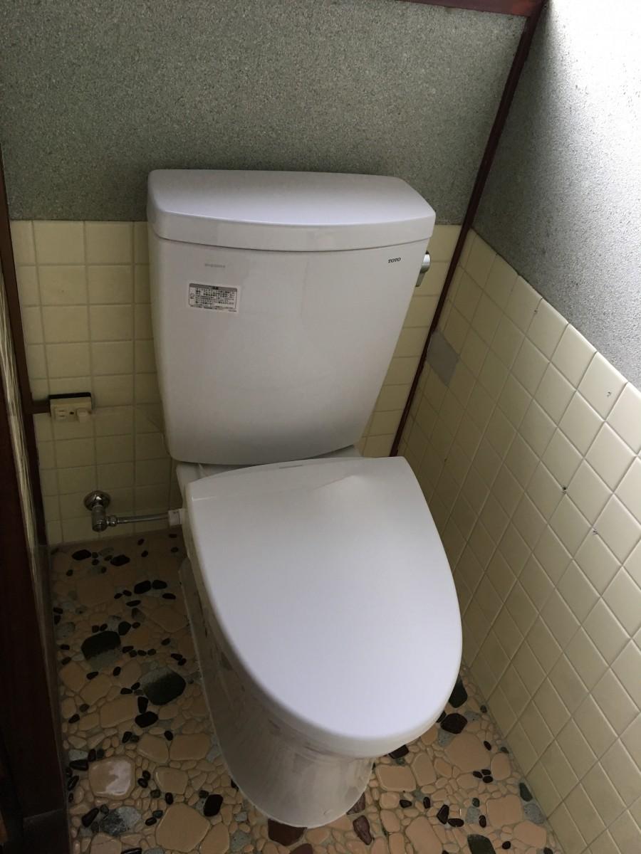 トイレリフォーム施工事例/能登町