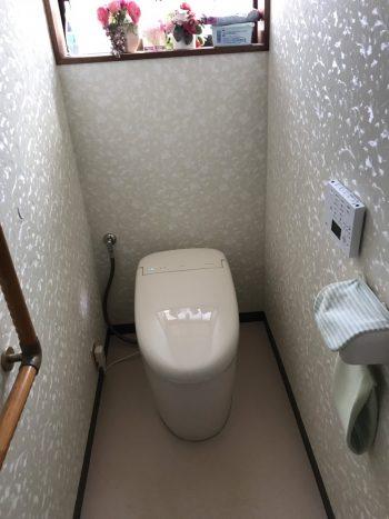 トイレ交換工事・完了☆(TOTO/ネオレスト)