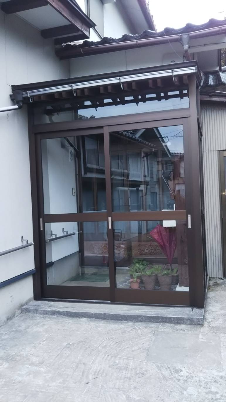 YKKAP/風除室設置工事完了!!