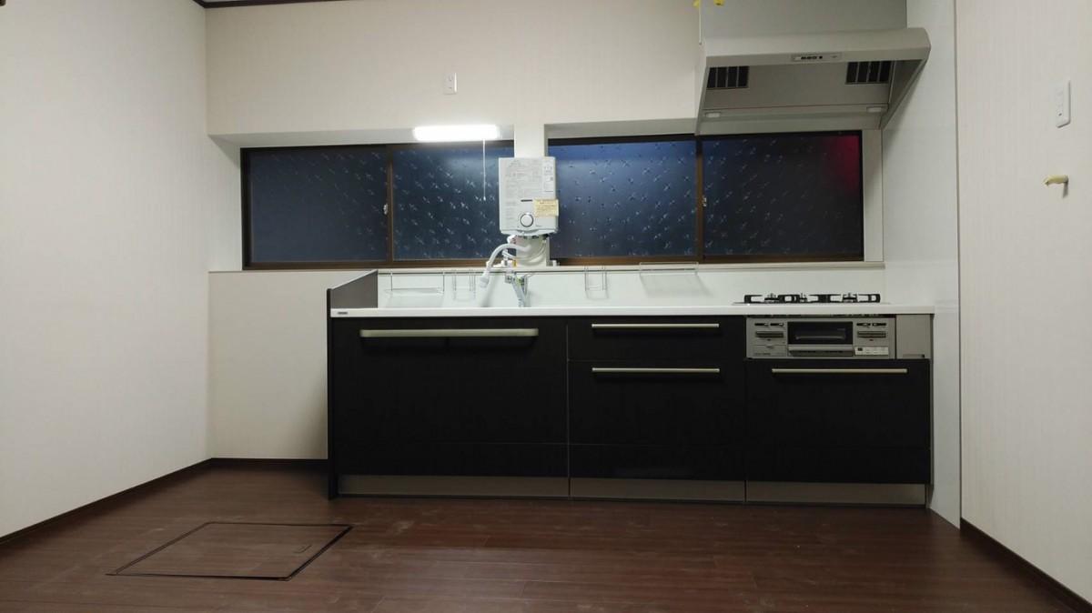 キッチンリフォーム施工事例/能登町