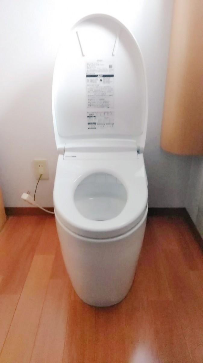 トイレ交換工事施工事例/能登町