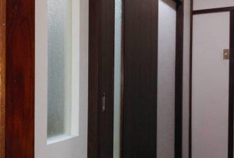 室内戸リフォーム施工事例(バリアフリー)/能登町