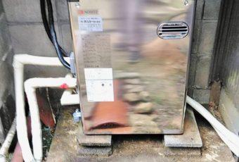 ノーリツ石油給湯器交換施工事例☆/珠洲市
