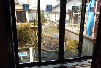 窓サッシリフォーム施工事例(YKKAP マドリモ)/能登町