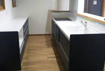 対面式キッチンリフォーム施工事例/能登町