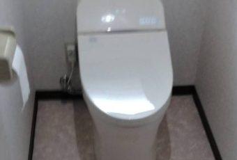 TOTO GG3 トイレ交換 施工事例/能登町