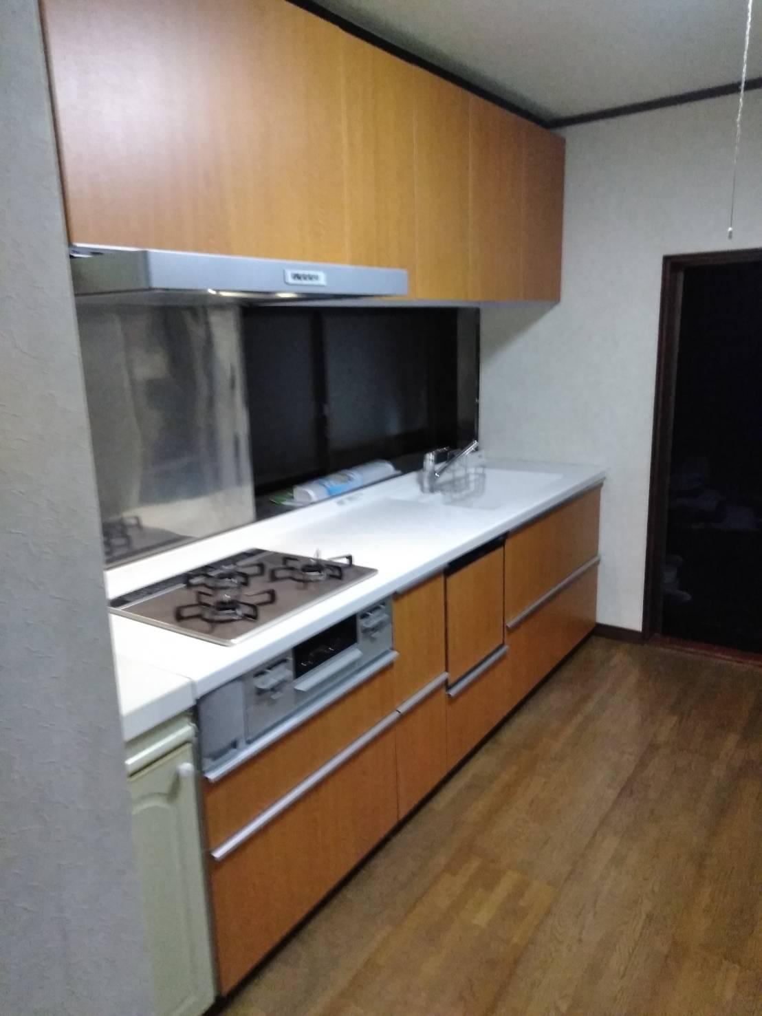 システムキッチン TOTO ミッテ / 能登町