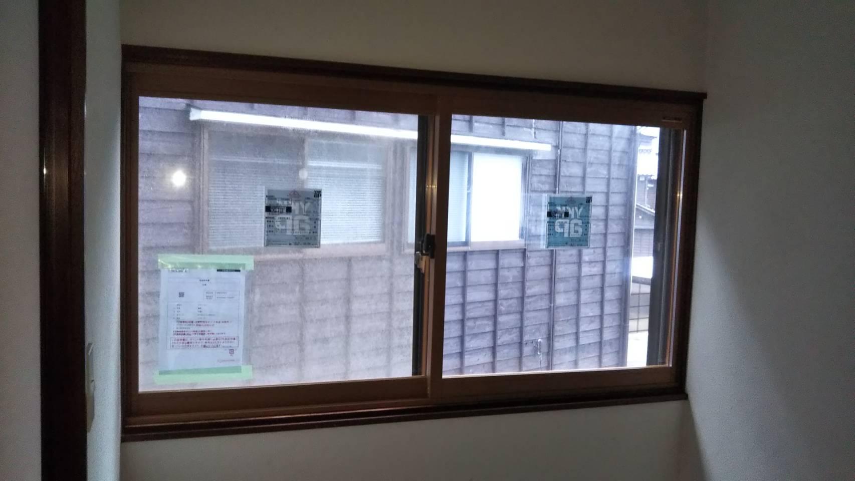 YKKAP 内窓 プラマード 施工事例★/能登町