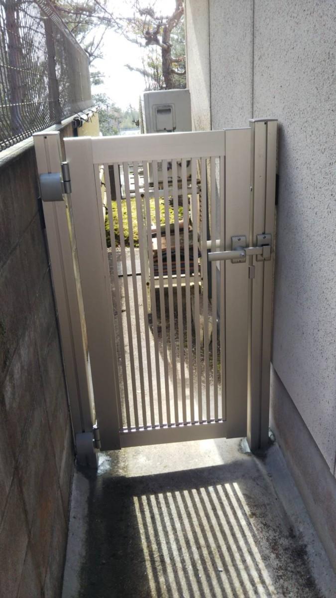 門扉 取付 施工事例☆/能登町