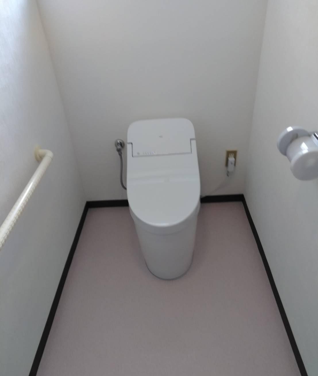 TOTO GG3 トイレ 施工事例☆/能登町