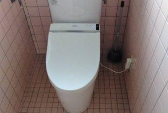 TOTO ピュアレストEX+S1 トイレ施工事例/能登町