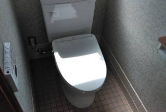 TOTO QR+アプリコット トイレ 施工事例♪/能登町