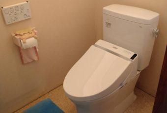 TOTO ピュアレストQR+S1 トイレ施工事例☆/能登町