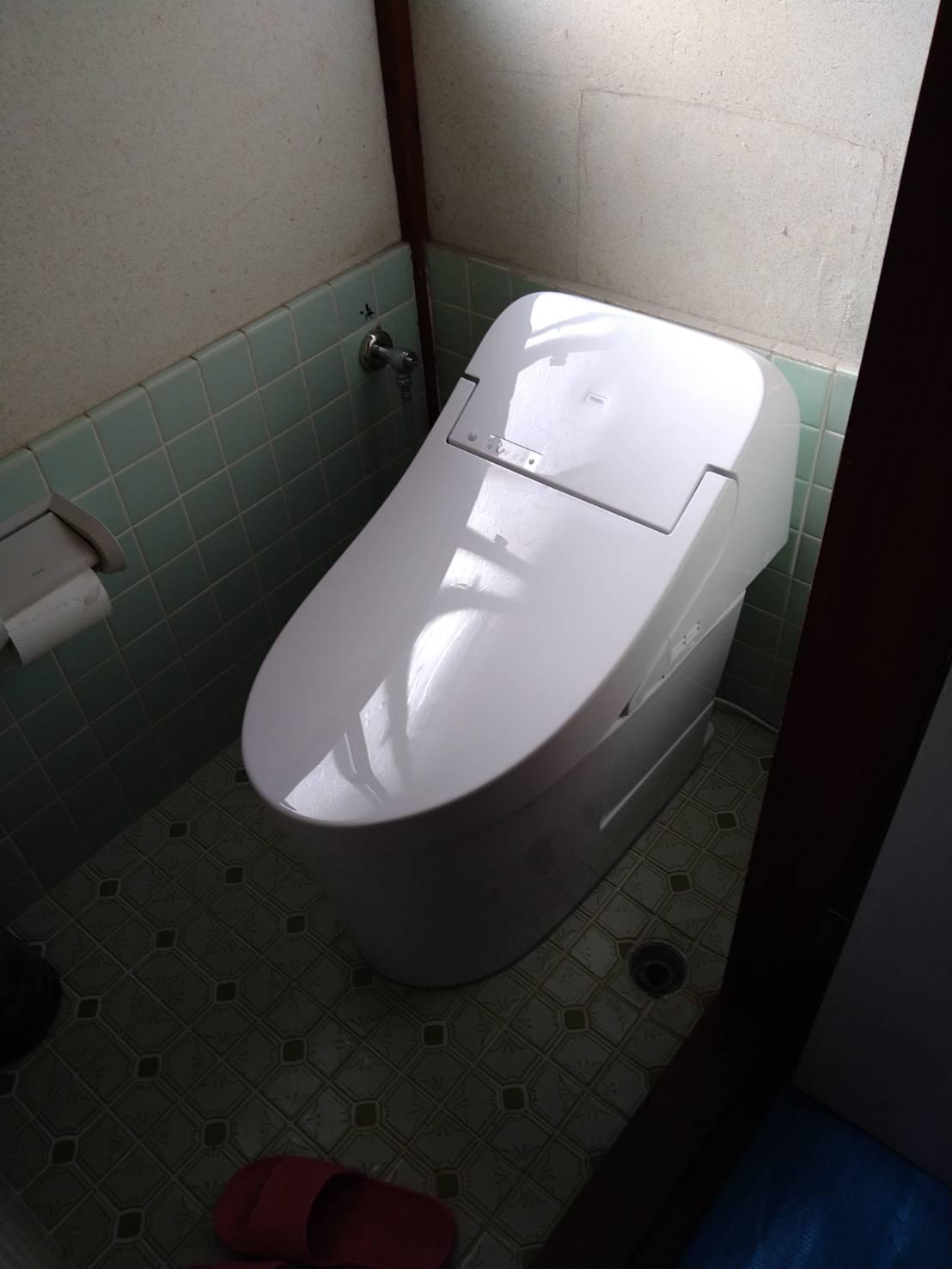 TOTO GG3 トイレ施工事例★/能登町