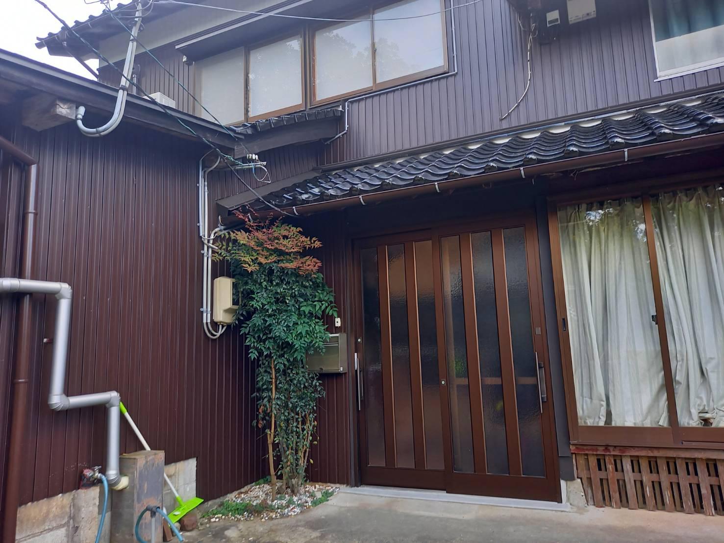 YKKAP れん樹 玄関 施工事例★/能登町