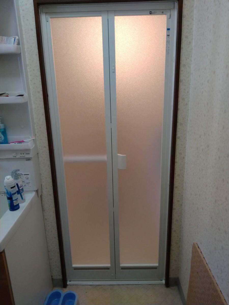 YKKAP 浴室ドア 施工事例★/能登町