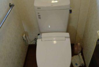 LIXIL アメージュZ  トイレ交換工事施工事例/能登町