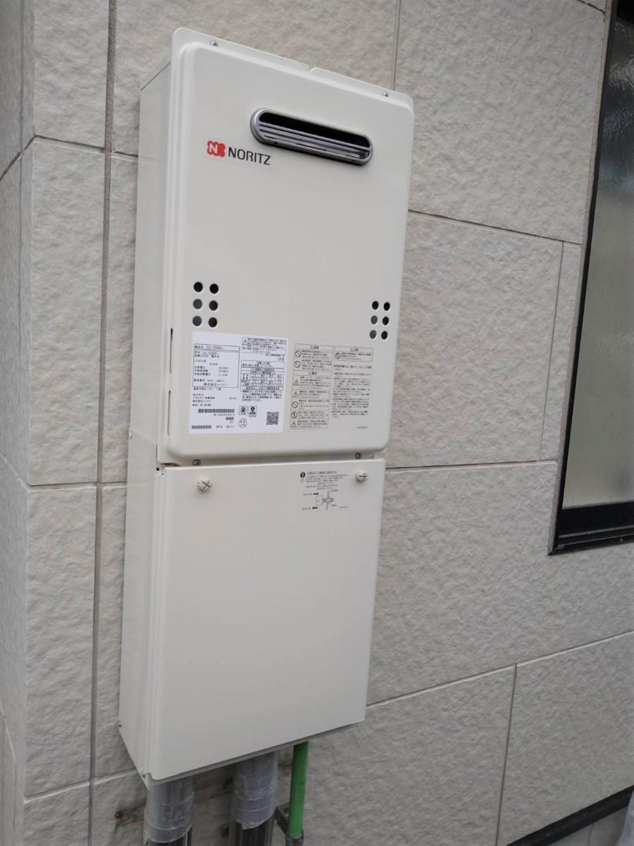 ☆彡ガス給湯器☆彡取替工事施工事例/能登町