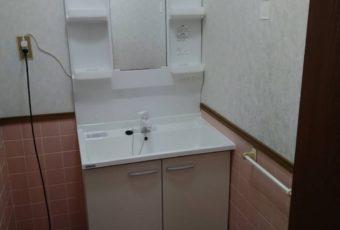 トクラス BGA 洗面化粧台 施工事例☆/穴水町