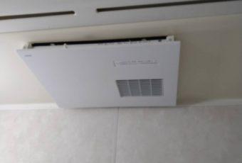 TOTO 浴室換気暖房乾燥機 三乾王 施工事例♪/能登町