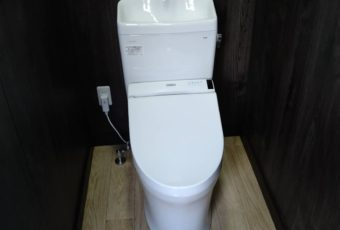 TOTO ピュアレストQR+S1 トイレ施工事例♪/能登町