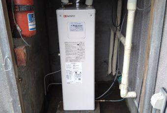 ノーリツ 石油給湯器 取替え 施工事例☆/能登町